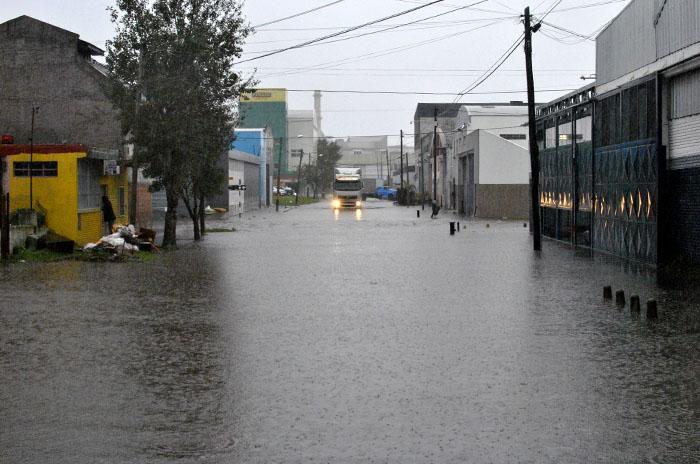 Temporal: la cantidad de evacuados llegó a 180