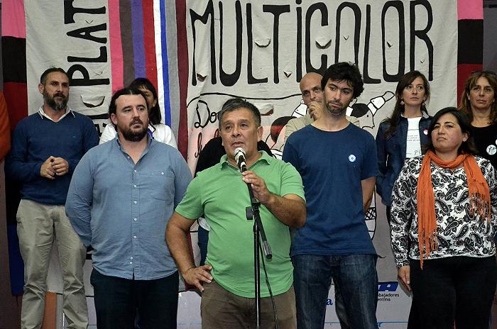 """Candidato a Suteba y maestro en El Martillo: """"Me atrae lo social"""""""