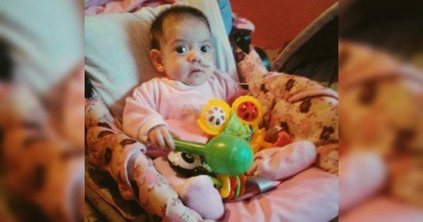 """Tiene 4 meses y lucha por su vida: """"Faltan dadores de sangre"""""""