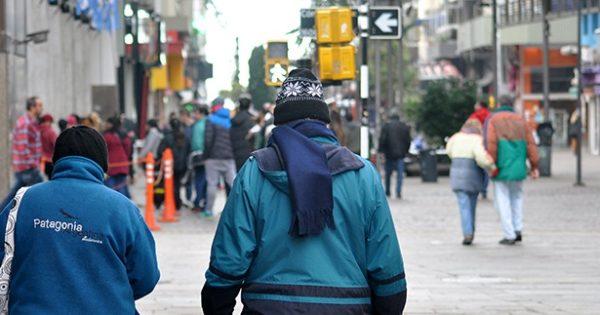 El frío llegó para quedarse: se esperan mínimas entre 1º y 4º