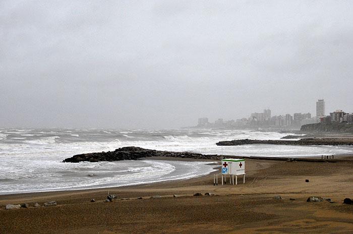 Rige un alerta meteorológico por vientos intensos con ráfagas