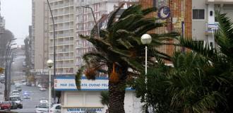 Alerta meteorológico por intensos vientos en Mar del Plata