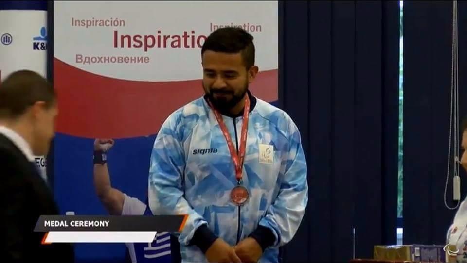David Coronel trajo la segunda medalla para Argentina