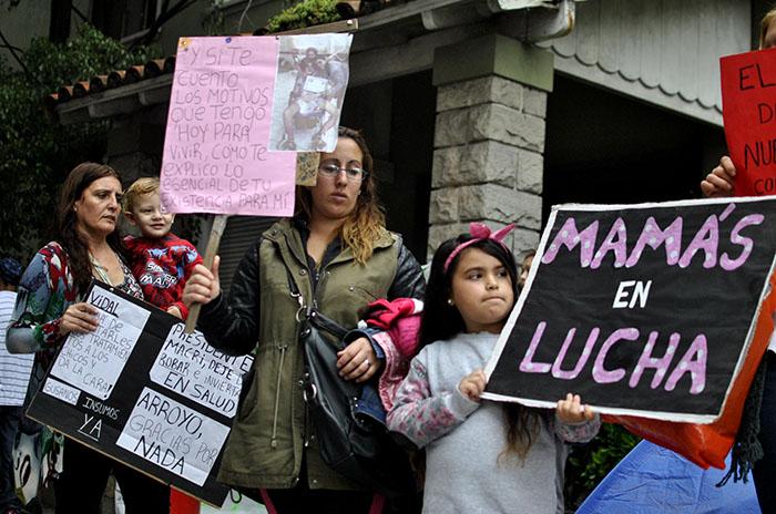 """Una comisión especial por los reclamos de """"Mamas en lucha"""""""