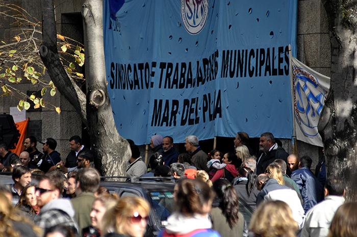 Trabajadores municipales se sumarán al paro general de la CGT
