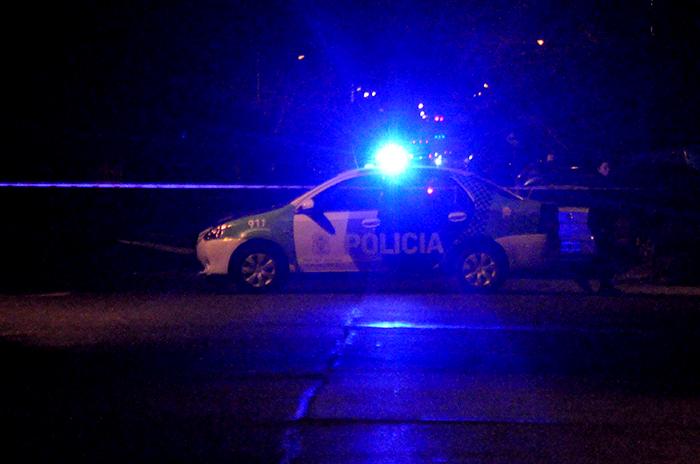 Manejaba borracho y chocó en San Martín y Champagnat
