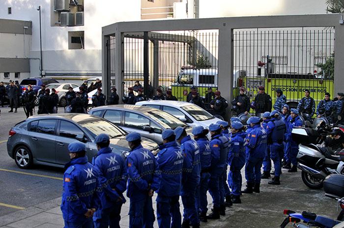 Caso Gianelli: blindaron Tribunales por la sentencia