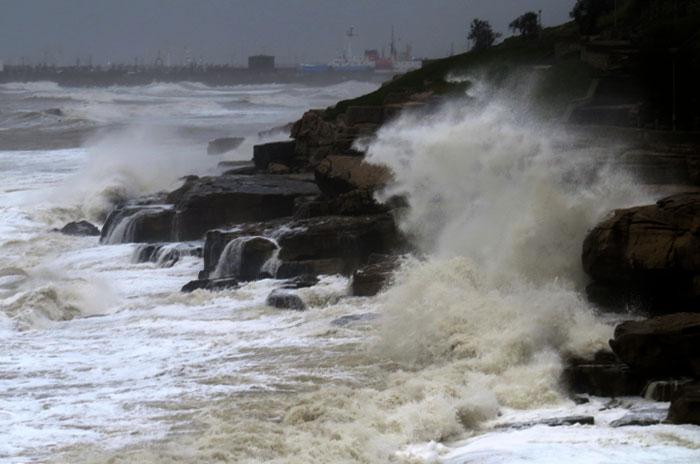 Alertan por vientos intensos con ráfagas en Mar del Plata