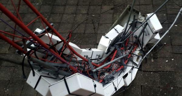 Temporal: Radio Universidad sufrió la caída de su antena