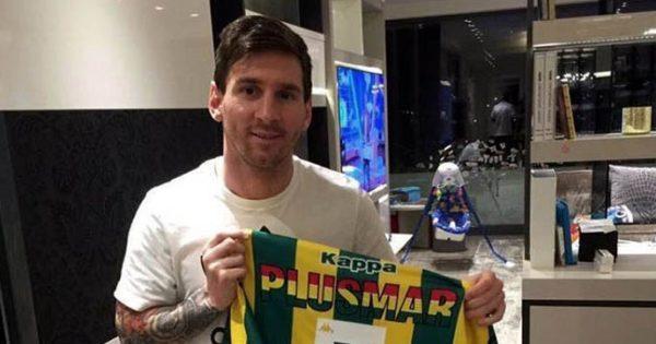 Aldosivi presente en la colección de Messi