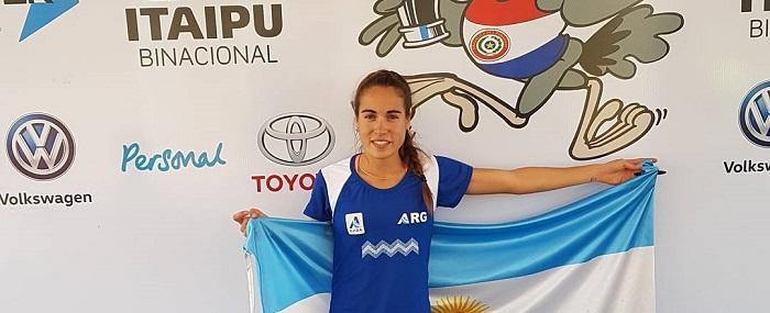 Belén Casetta sumó la segunda medalla para Mar del Plata