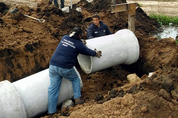 Playa Serena: tras las quejas, también arrancaron las obras