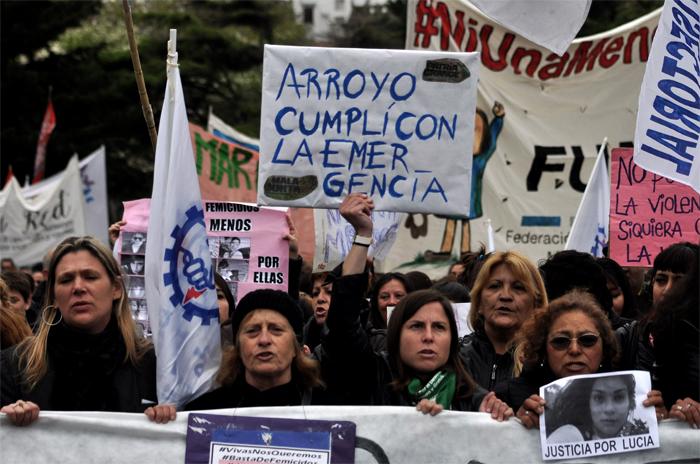 """Violencia de género: """"Depende de Arroyo prorrogar la emergencia"""""""