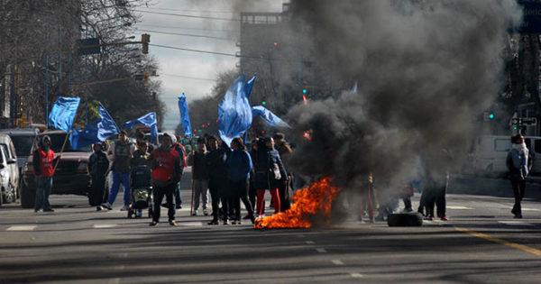 Trabajadores del Puerto protestaron por falta de empleo
