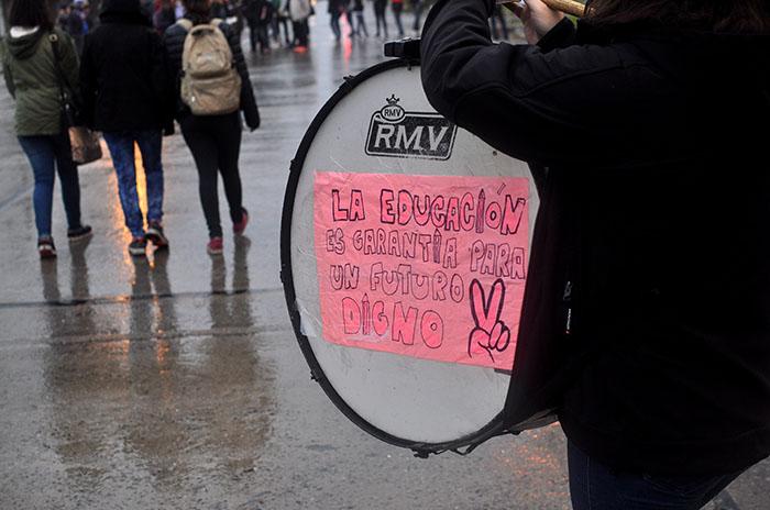 "Protesta estudiantil: ""Es un avance para la lucha en Mar del Plata"""