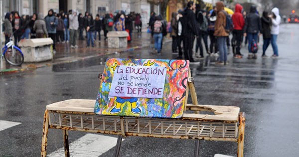 """Protesta estudiantil: """"El Consejo da respuestas todos los días"""""""