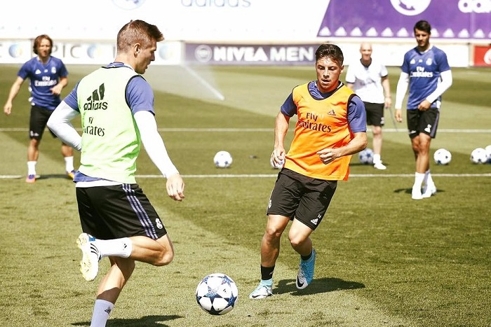 Un marplatense en las filas del Real Madrid