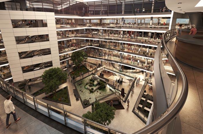 Cómo será el nuevo shopping de la avenida Constitución