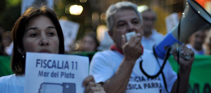 Caso Yésica Parra: juzgan a los padres por reclamar justicia