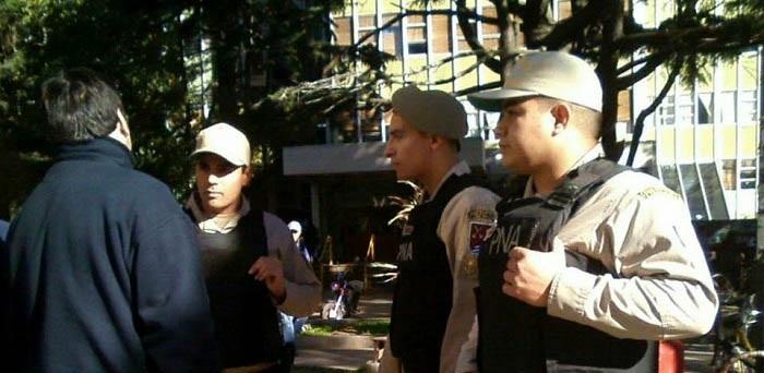 Repudian el ingreso de Prefectura al Complejo Universitario