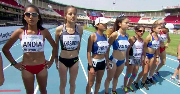 Atletismo: Palma Fernández tuvo su debut en el Mundial Sub 18