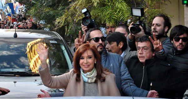 """Cristina: """"No es casual que estemos en Mar del Plata"""""""