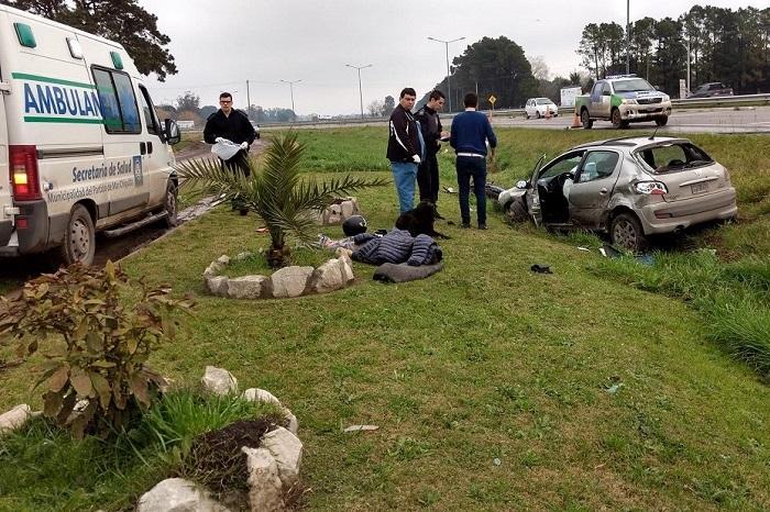 Accidente fatal en Ruta 11: murió un motociclista de 22 años