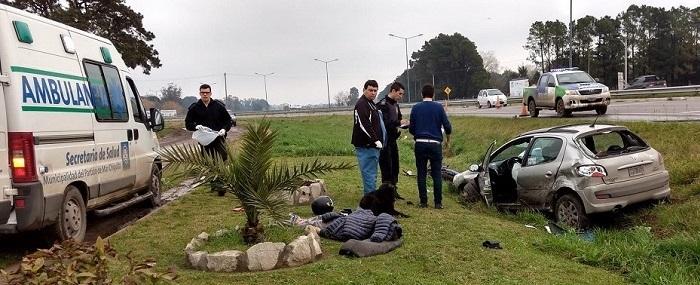 """Inician acción penal por choque fatal en Ruta 11: """"Iba a 170 km/h"""""""