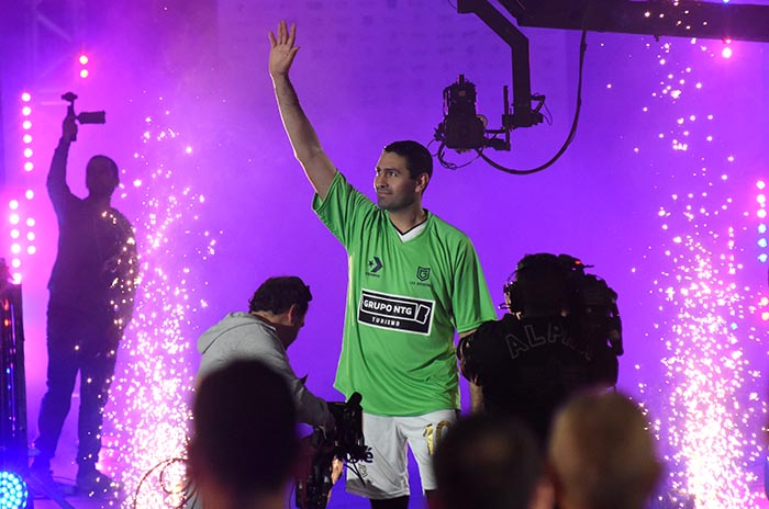 Jugó a lo grande, se retiró a lo grande: Leo Gutiérrez