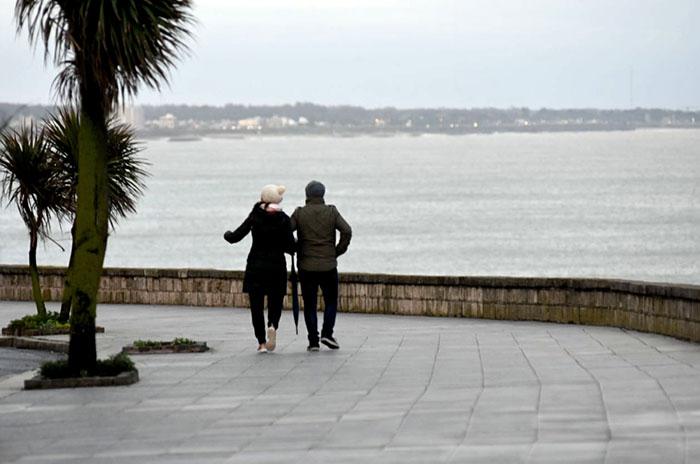 Un pronóstico con fuertes vientos y mucho frío en Mar del Plata