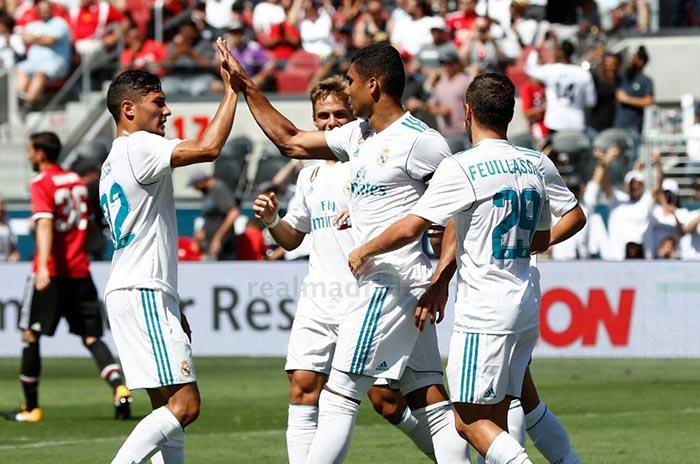 Feuillassier debutó en el Real Madrid