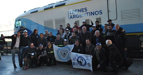 Tren: los trabajadores esperan por el traspaso a Nación