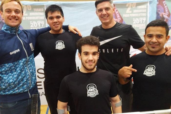 Para Powerlifting: nueve medallas marplatenses en el Nacional