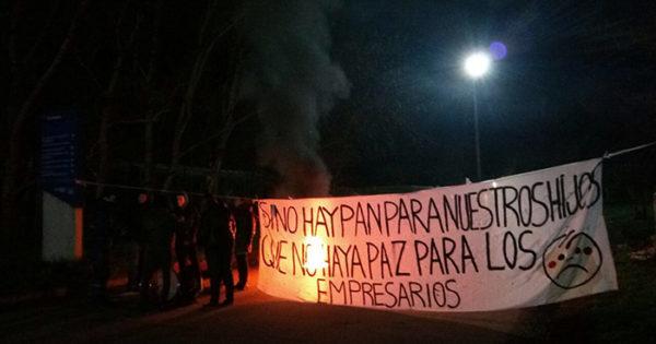 Protesta y bloqueo en la planta Pepsico de Mar del Plata