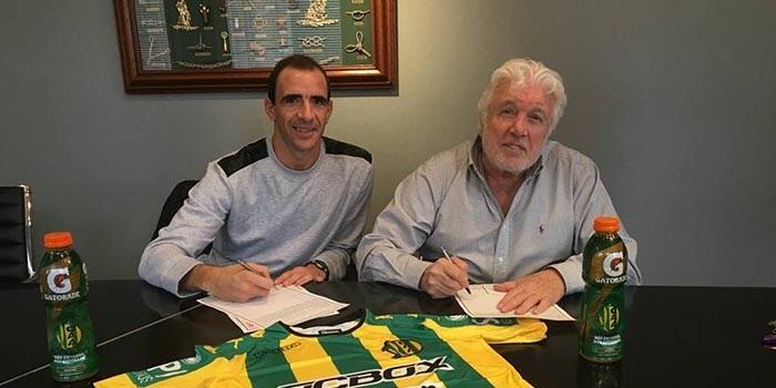 Aldosivi suma experiencia: firmó Leandro Somoza