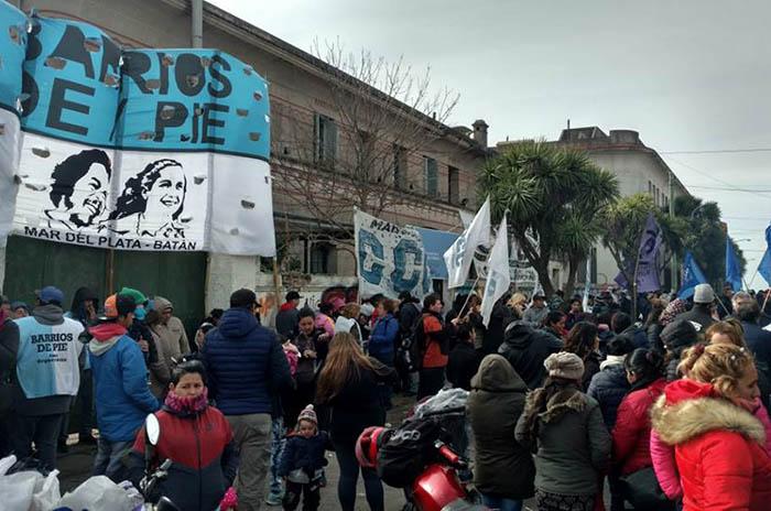 Día de protestas: reclaman que se activen programas sociales