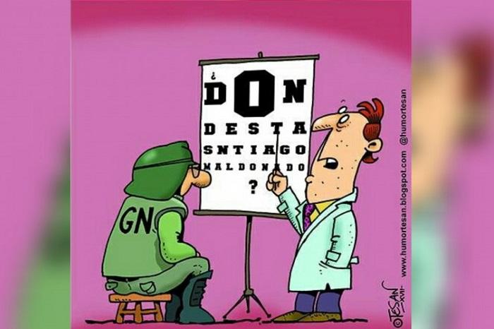 Santiago Maldonado: la pregunta y el dibujo que recorren las redes