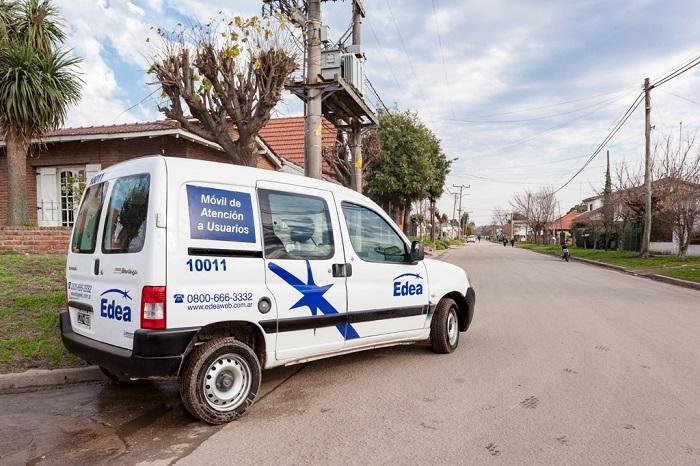EDEA sacó a la calle oficinas móviles que reciben reclamos