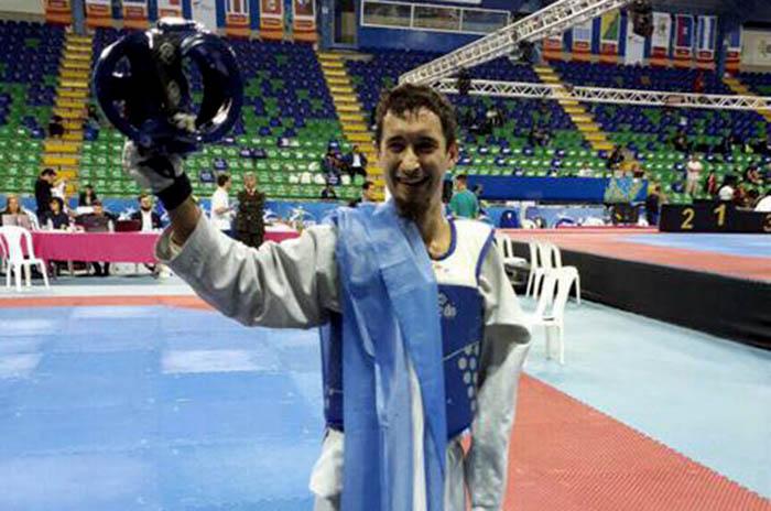 Para taekwondo: Facundo Novik bicampeón panamericano