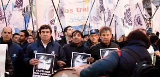 """Marcha del movimiento obrero: """"No queremos más despidos"""""""