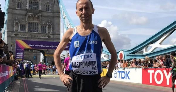 Rosa Godoy fue 62 en la maratón — Mundial de Londres