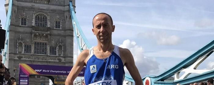 Londres 2017: Mastromarino no pudo terminar la maratón