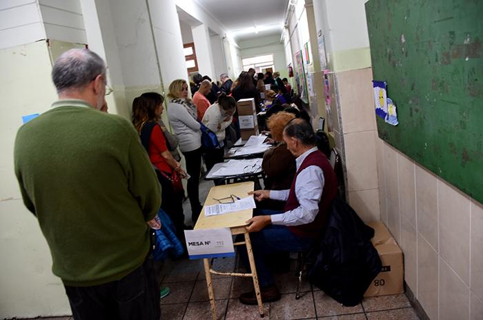 En seis horas, votó casi el 40% del padrón en Mar del Plata