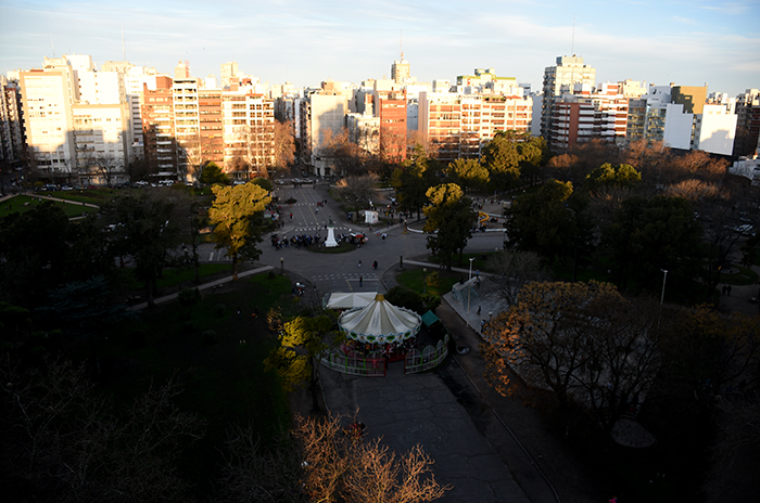 """Inaugurarán un """"Paseo de las Farolas"""" en Plaza Mitre"""