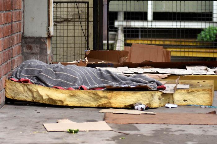 Situación de calle: contención, abrigo y abordaje de adicciones