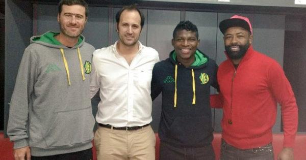 William Palacios ya es jugador de Aldosivi
