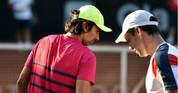 Zeballos y Peralta, afuera en la primera ronda de Roma