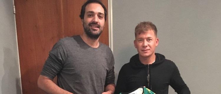 Aldosivi presentó a Arnaldo González