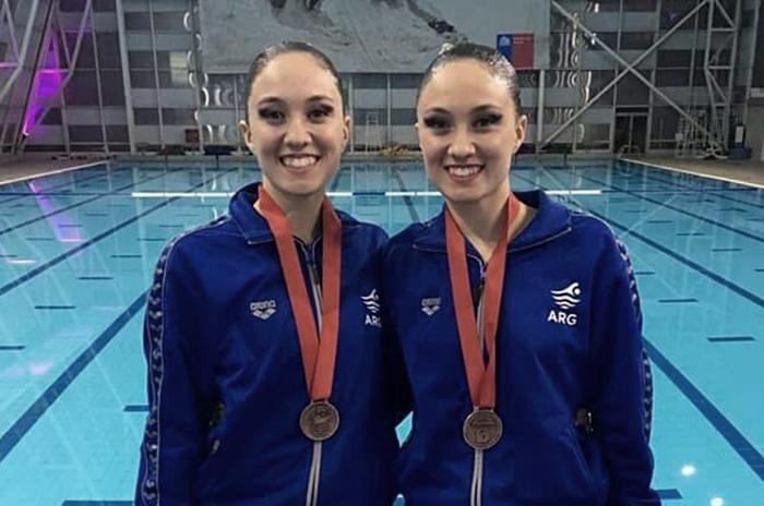 Panamericano de Natación: bronce para las mellizas Ferrer