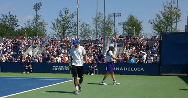 US Open: Zeballos y Peralta avanzaron a la segunda ronda